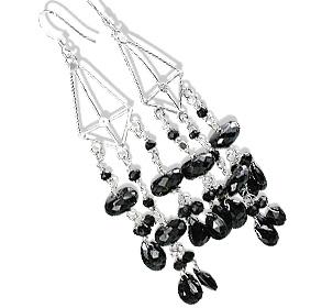 Chandelier Onyx Earrings 3