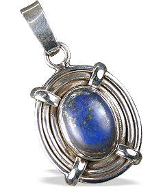 contemporary lapis lazuli pendants