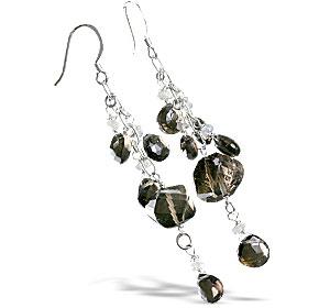 smoky quartz earrings 3