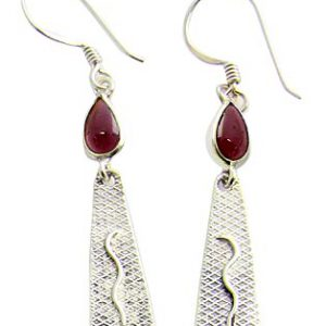 garnet earrings 18