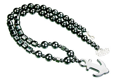 charm hematite necklaces