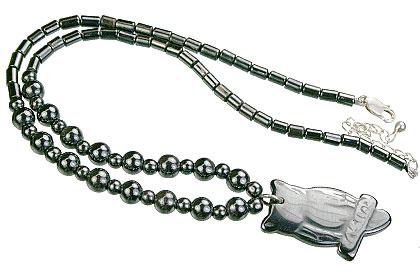 Charm Hematite Necklaces 3