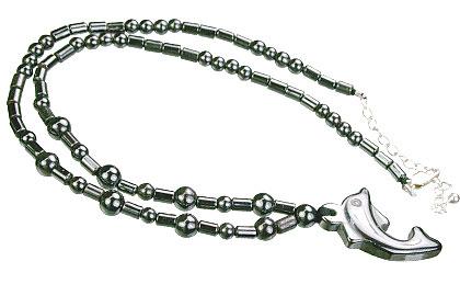 Charm Hematite Necklaces 5