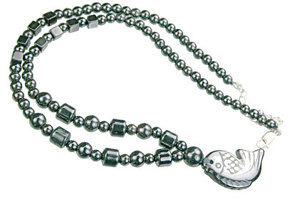 charm hematite necklaces 6