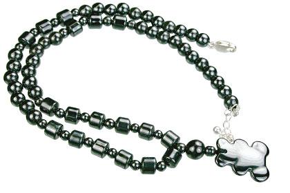 Charm Hematite Necklaces 8
