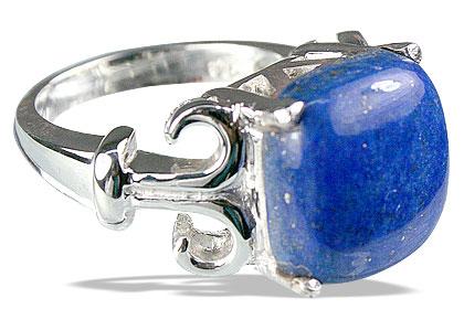 Sterling Silver Lapis Lazuli Ring 2