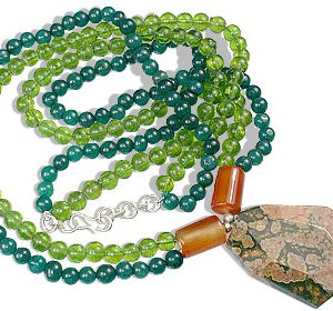 aventurine necklaces 4