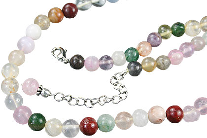 simple-strand multi-stone necklaces 2
