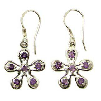 faceted amethyst earrings 10