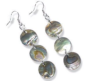 mother-of-pearl earrings