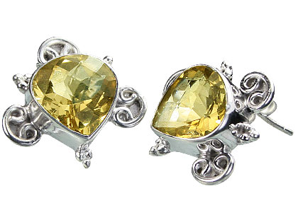 post citrine earrings 3