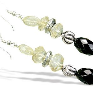 lemon quartz earrings 2