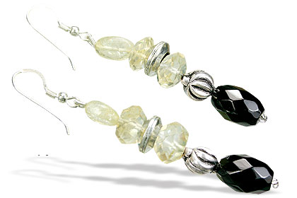 Lemon Quartz Earrings 2