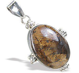 classic bronzite pendants