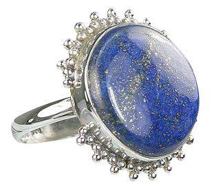 Sterling Silver Lapis Lazuli Ring 3