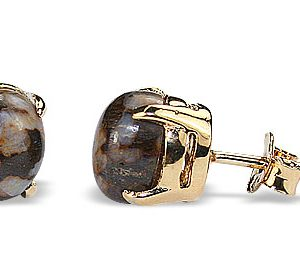 post jasper earrings