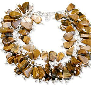 clustered tiger eye bracelets 2