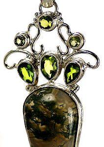 moss agate pendants 12