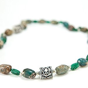 chunky aventurine necklaces 2