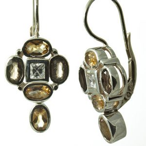 smoky quartz earrings 4