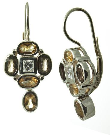 Smoky Quartz Earrings 4