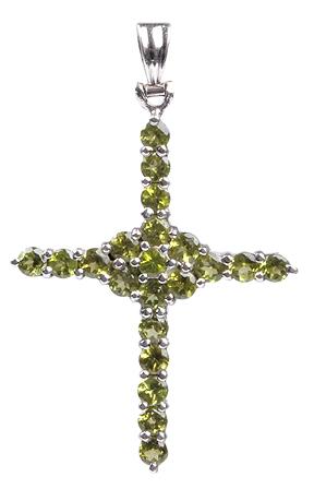 Cross Peridot Pendants 8