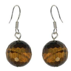 classic tiger eye earrings