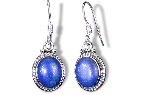 Contemporary Lapis Lazuli Earrings