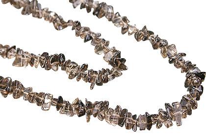 chipped smoky quartz necklaces