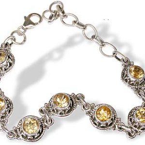 american-southwest citrine bracelets