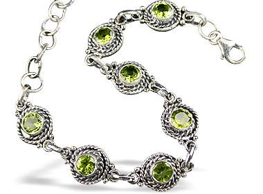 American-southwest Peridot Bracelets