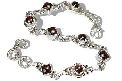 Art-deco Garnet Bracelets