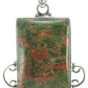 unakite pendants 5