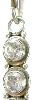 zipper-pull cubic zirconia pendants 2