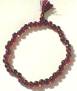 stretch garnet bracelets 2