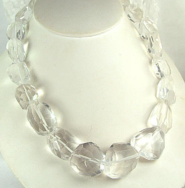 Chunky Crystal Necklaces