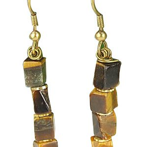 tiger eye earrings 2