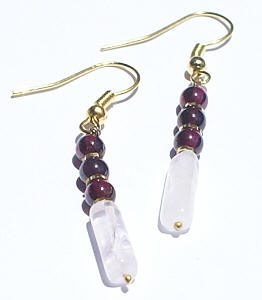 garnet earrings 5