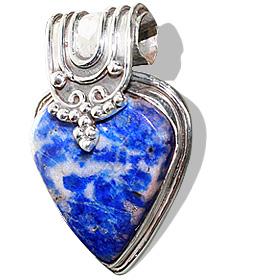 drop lapis lazuli pendants