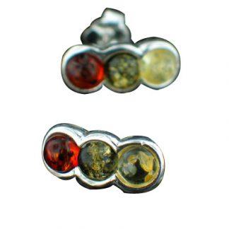post amber earrings 4