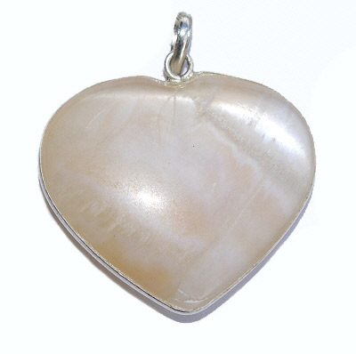 Heart Moonstone Pendants