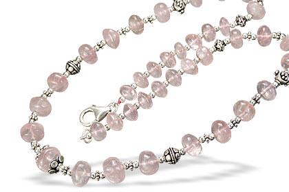 Rose Quartz Necklaces 2