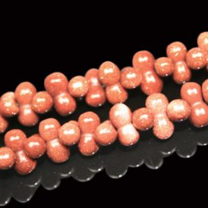 Goldstone Beads (9x3mm)