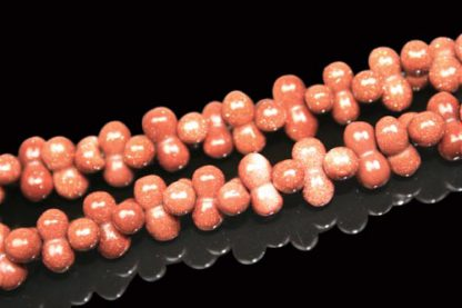 Goldstone Beads (9x3mm)