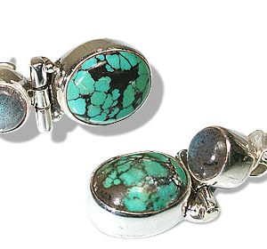 american-southwest turquoise earrings 3