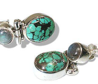 american-southwest turquoise earrings 3