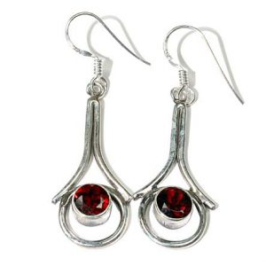 garnet earrings 7