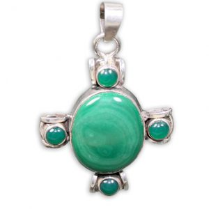 malachite pendants 8