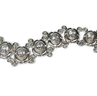gothic-medieval crystal bracelets