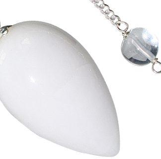 Snow Quartz Drop Pendulum